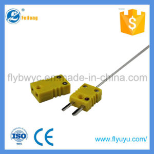 Needle-Shaped K Type Temperature Sensor with Plug for Rubber Food Prcessing pictures & photos