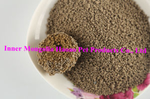 Nature Yellow Color Bentonite Cat Litter-1-3.5mm pictures & photos