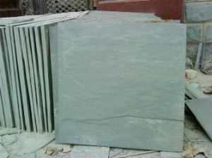 Natural Split Green Slate Tiles for Flooring (SSS-93) pictures & photos