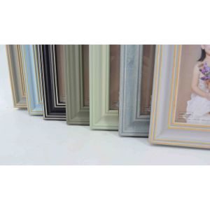 New Wooden Looking PS Photo Frame for Home Decoration pictures & photos