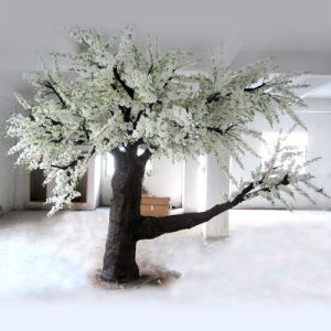 Outdoor or Indoor Decorative Pink/White Artificial Cherry Blossom Tree pictures & photos