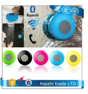 Wireless Shower Bluetooth Speaker with Sucker Support Hands-Free Calls Function pictures & photos