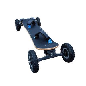 Wholesale 1650W*2 Dual Motor 4 Wheels Electric Mountain Skateboard pictures & photos