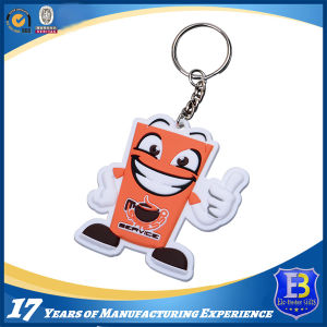 Lovely Styel Soft PVC Keychain for Promotion pictures & photos