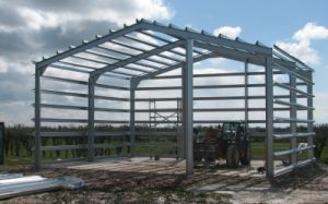 Made in China Prefabricated Steel Structure Warehouse pictures & photos