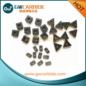 Solid Carbide Indexable Turning Inserts CVD Coating pictures & photos