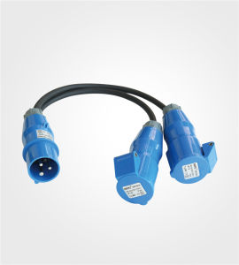 Split out Cable with 16A C Form Connector