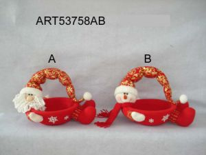 Cute Christmas Snowman Santa Basket -Christmas Decoration pictures & photos