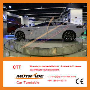 Automated Turning Plate Car Platforms Heavy Duty Car Turning Table Auto Show Car Turntable Auto Show Car Turner pictures & photos