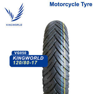 Chinese Motorcycle Tubeless Tyre 120/80-17 130/80-17 80/90-17 90/90-17 100/70-17 pictures & photos