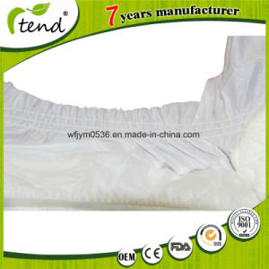 Non-Woven Top Sheet Breathable and Quick Dry Adult Diapers pictures & photos