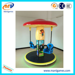 Welcomed Funny Kids Ride Mushroom Flying Chair pictures & photos