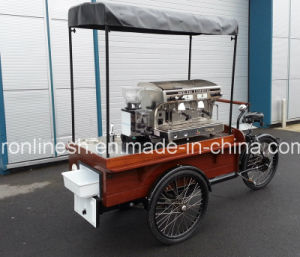 250W/350W/500W Electric/Pedal Retro/Vintage Mobile Coffee Bike/Coffee Trike/Coffee Cart/Coffee Tricycle/Coffee Vending Cart/Tea and Coffee Trike/Cafe Tricycle pictures & photos