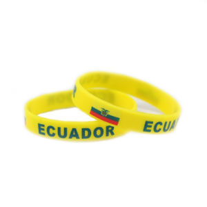 Silicone Wristbands Rubber Bracelets for Promotional Gifts pictures & photos
