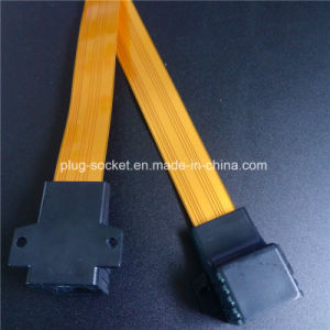28cm, 32cm, 52cm Orange Color Flat Windown Cable (Ca-002) pictures & photos