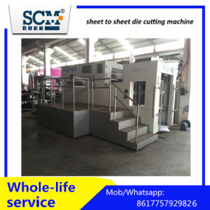 High Speed Sheet to Sheet Die Cutting Machine with Stripping pictures & photos