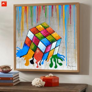 Innovative Original Designed Dice Painting Canvas Art pictures & photos