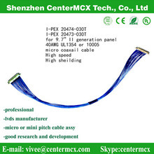 Micro Coaxial Cable Assembly Lvds Cable pictures & photos