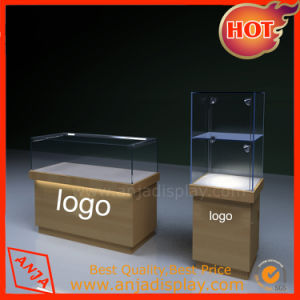 Wooden Store Fixture Store Display Showcase for Shop pictures & photos