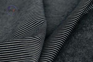Vertical Stripes Stretch Denim Fabric pictures & photos