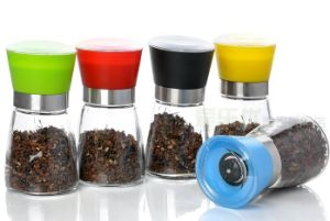 Glass Spice Grinder/Pepper Grinder/Salt Grinder/ Spice Grinder pictures & photos