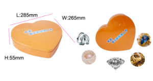 Big Heart Shape Tin Box for Food Package Jy-Wd-2016092403 pictures & photos