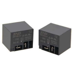 Zd4115k (T91) 4 Pin 40A Normally Open Miniature Power Relay for Industrial&Household Appliances pictures & photos