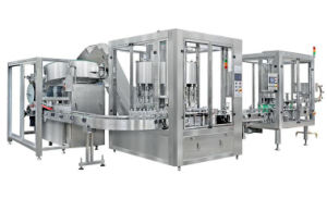 Filling Machine Automatic Complete Line 15000bph Drinking Water Labeling Machine pictures & photos
