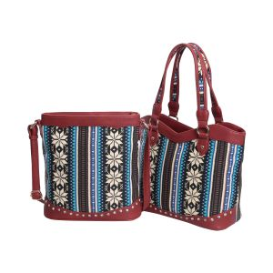 Bohemia Exotic Canvas Messenger Tote Bags (MBNO042092) pictures & photos