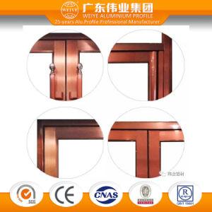 Weiye New Product Antique Aluminum Alloy Swing Door pictures & photos