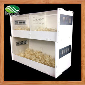Double Acrylic Ecological Board Scorpion Reptile Terrarium Habitat for Crawler Tarantulas Chameleon Snails or Other Larval Reptiles pictures & photos