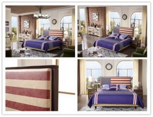 Foshan Manufacture Home Bedroom Furniture Euro Style Leather Soft Bed pictures & photos
