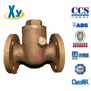 Marine Bronze Swing Check Valve JIS F7371 5k pictures & photos