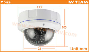 CCTV IP Camera with Poe 1/3 CMOS CCTV Camera 1024p 1.3MP with Sony Sensor Dome Vandal Proof Security Camera pictures & photos