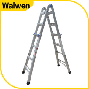 High Stength Multi-Purpose Folding Aluminum Scaffolding Ladder pictures & photos