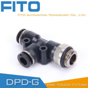 Pd Pneumatic G-Thread Fittings with Nickel Plated and O-Ring Pd8-02 pictures & photos