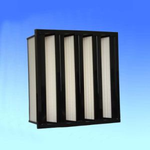 Zhuowei Mini-Pleat Compact V Bank HEPA Filter pictures & photos