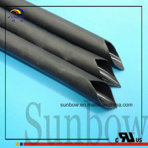Semi Rigid Black Adhesive Liner Polyolefin Heat Shrink Tubing pictures & photos
