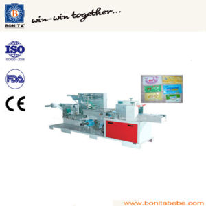 Bnt-300 Wet Tissue Folding and Packing Machine (1~2PCS/pack)