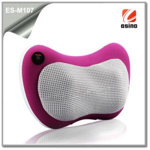 New Portable Neck Massage Pillow Es-M107 Travel Massage Cushion Pertect for Car Seats