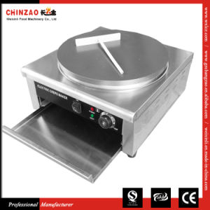 Single Plate Commercial Electric Crepe Maker Machine pictures & photos