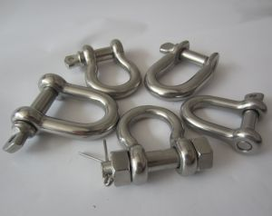 Stainless Steel G2150 Bolt Type Chain Shackle pictures & photos