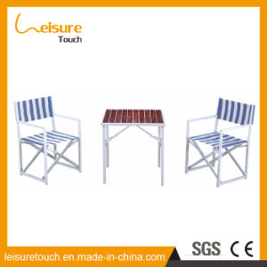 Outdoor Dining Furniture Garden Leisure Plastic Wood Chair and Table pictures & photos