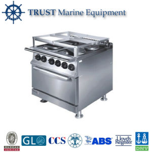 4 Round Hot Plate Marine Electric Cooking Range with Oven pictures & photos