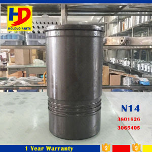 High Quality N14 Big Cylinder Black Liner Kit Piston Liner Ring (3801826) (3065405) pictures & photos