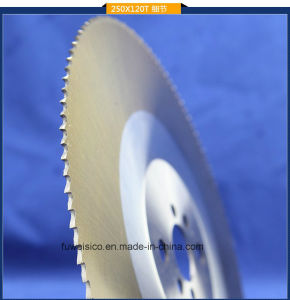 275X1.6X32mm HSS M2 Circular Saw Blade for Tube Cutting. pictures & photos