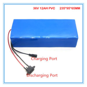 Rechargeable Battery 36V 12ah with PVC Case for Electric Bike pictures & photos
