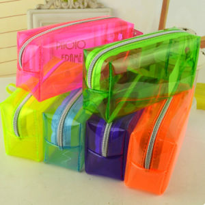 Transparent Pencil Bag With UV Printing pictures & photos