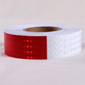 PVC Honeycomb Reflective Safety Warning Conspicuity Tape for Traffic Sign pictures & photos