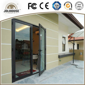 2017 China Factory Cheap Aluminum Casement Door pictures & photos